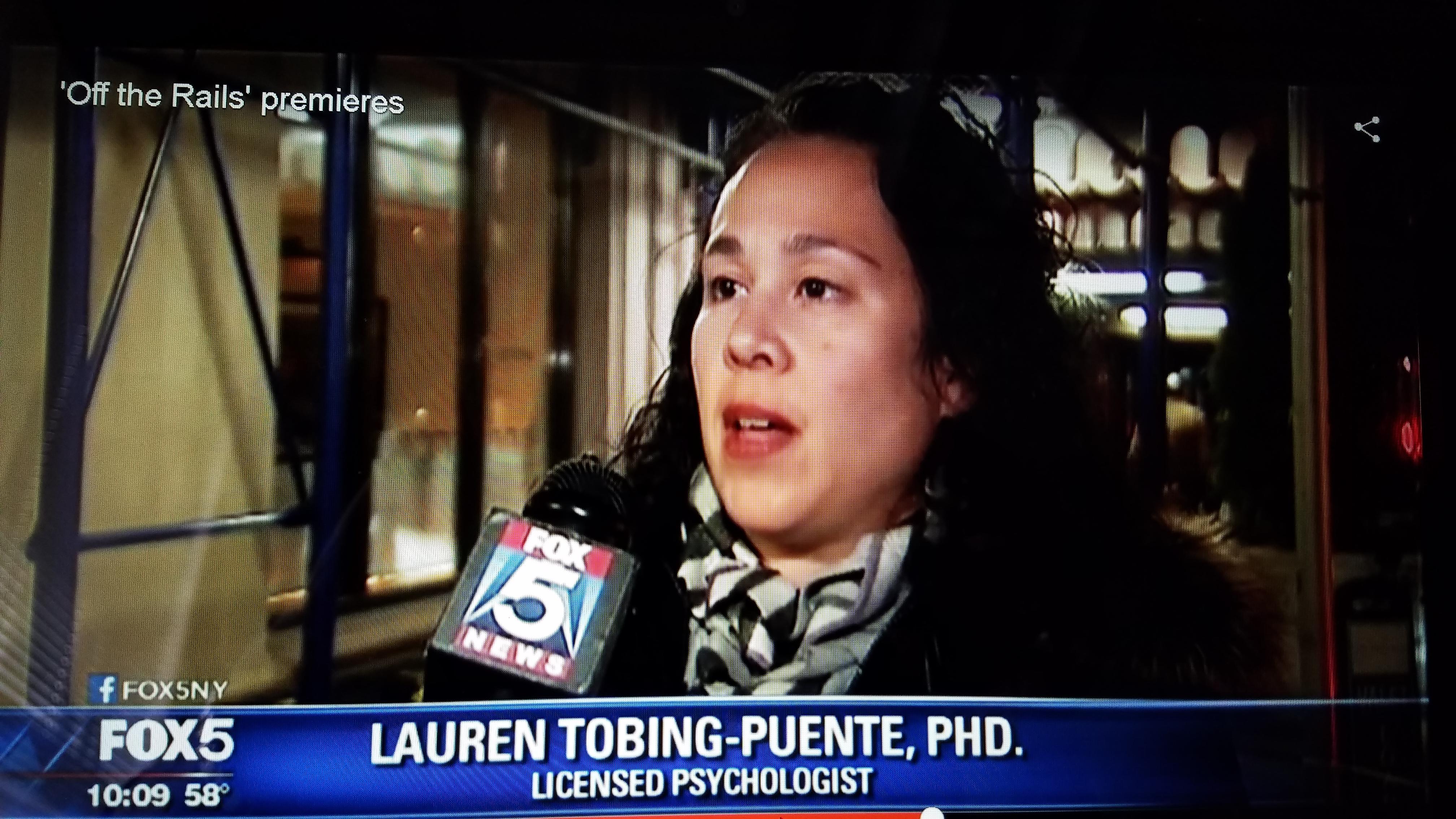 My Interview on Fox 5 NYC News | Dr  Lauren Tobing-Puente